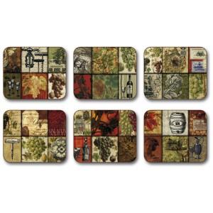 Winemaker's Legacy Coasters - Set 6 piese