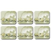 Magnolias Coasters - Set 6 piese