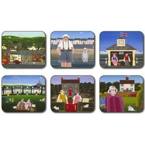 Rural Dreams Coasters - Set 6 piese