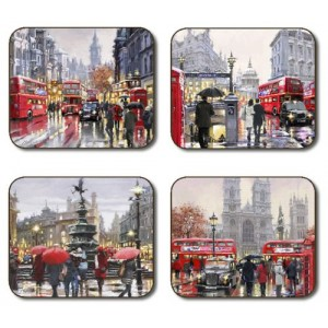 Streets of London Placemats - Set 4 piese