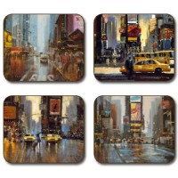New York Placemats - Set 4 piese