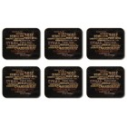 Connoisseurs Collection Placemats - Set 6 piese