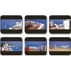 Indigo Skies Placemats - Set 6 piese