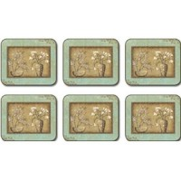 Tea Room Bouquet Placemats - Set 6 piese