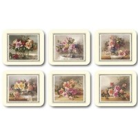 Old Fashioned Roses Placemats - Set 6 piese