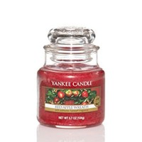 Lumanare Parfumata Borcan Mic Red Apple Wreath, Yankee Candle