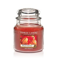Lumanare Parfumata Borcan Mediu Spiced Orange, Yankee Candle